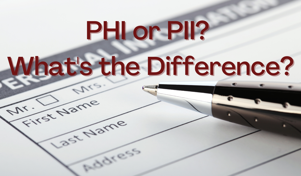 PHI or PII